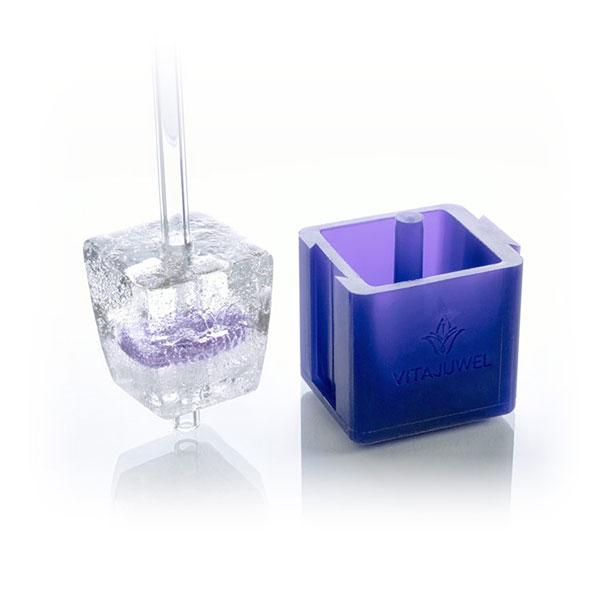 vitajuwel crystal glass straws ice cube