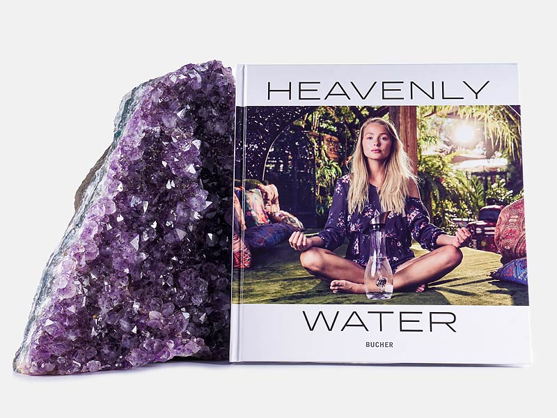vitajuwel coffee table book heavenly water gem water book