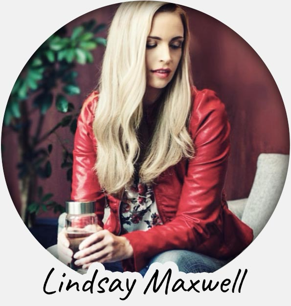 lindsey maxwell crystal water bottle